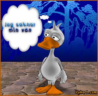 saknar min vän